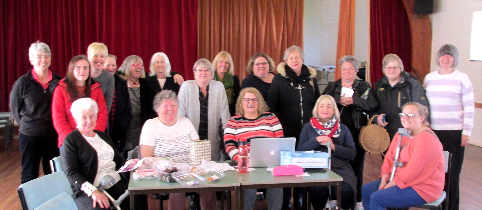 llandudno fibromyalgia support network Initial meeting group photo